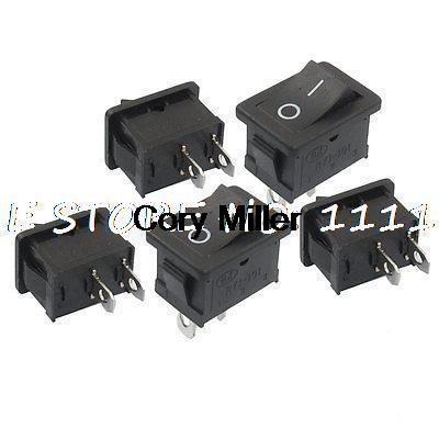 Кулисный переключатель 2 125V/10 250 /6A SPST 1 .