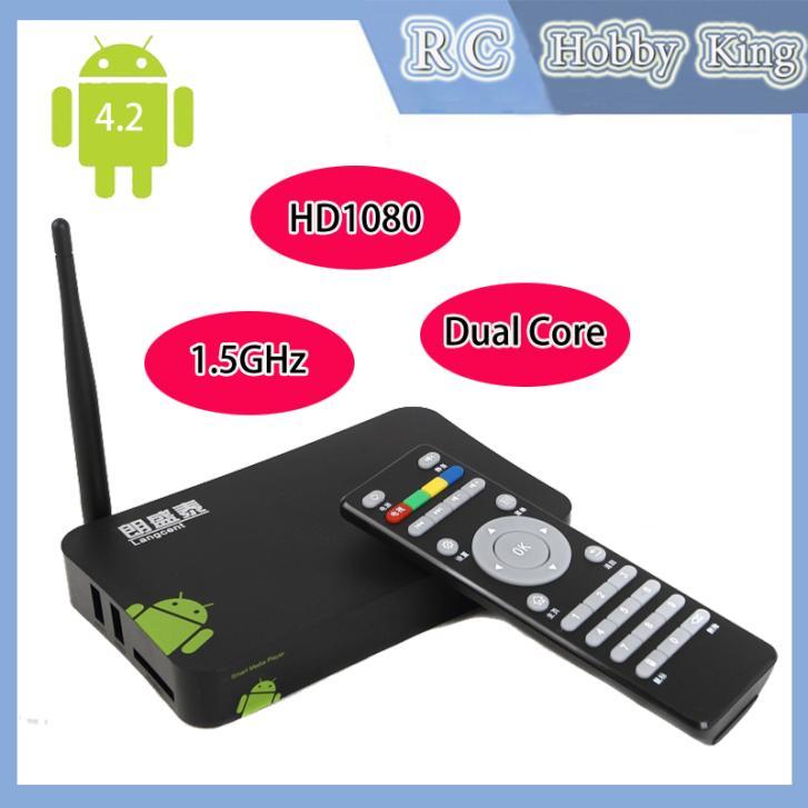 Mini CP Dual Core 1.5GHz Android 4.2 Smart TV Box XBMC Media 3D HDMI Player Center Smartphone Remote Control Drop sh helicoptero(China (Mainland))