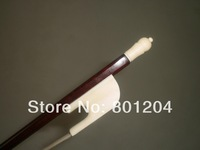 2 PCs Snake wood Violin bow 4/4, Quality Baroque Violin bow 1015#