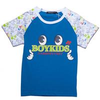2014 New Fashion Style EYES Pattern Tshirts Short Sleeves BOYKIDS Thumb Tops,Free Shipping   K6545