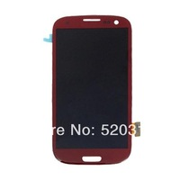 100% Original LCD Assembly+Touch Screen Digtizer Colors For Samsung I9300 Galaxy S3 I9300