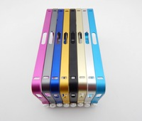 2014 New Updated version Fashion Design 0.7mm Ultra-thin Aluminum Metal Blade Bumper Frame For iPhone 5 5S