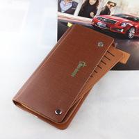 Promotion Wallet 2014  genuine leather male wallet, long design  cowhide  vintage men wallets purse