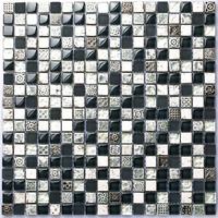 Stone glass silver blue tiles backsplash kitchen bathroom mirror wall tile uk stickers grey mosaics new ideas backsplash tiles