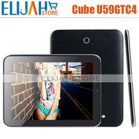 New Arrival 9.7 inch cube U59GT-C4  U59GT c4 talk97 3G cellphone call tablet quad core 1GB/8GB BT WIFI GPS IPS tablet PC u59gtc4