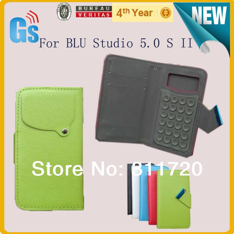 Leather-Flip-Leather-Case-For-BLU-Studio-5-0-S-II-Universal-Phone-Case ...