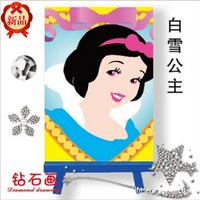 100pcs DIY Chidren Diamond Paint Embroider Snow White Mini 3D diamonds Paint