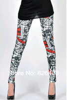 2014 new  sexy fashion women's  leggings, Europe Slim stovepipe pantyhose Women's clothing  , free shipping