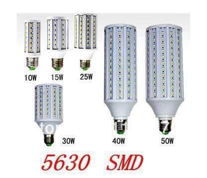 50W E27 LED Light LED Corn Bulb AC220/230V/240V Warm White/Cool White 360 degree emitting LED Corn Lighting bulb1PC free ship(China (Mainland))