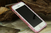 electronic 2014 new Luxury Bracelet Style Metal Bumper Frame Cover Case For Apple iPhone 5 5S