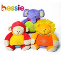 Hessie Baby Cute plush Animals velvet Blankets MultiFunctional suit for all season Free Shipping