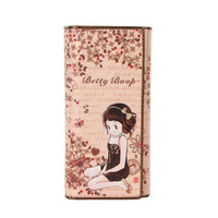 Betty BETTY wallet female 2014 long design wallet a4077-15-25  Free shipping