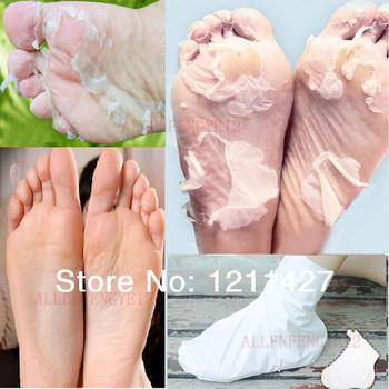 2 пара/лот отшелушивающие кожей-пилинг для ног маска удалить анти-бери-бери и мозоли сокс ног здравоохранения омертвевшие клетки кожи ног