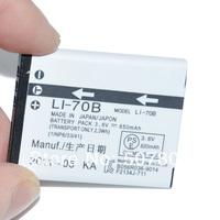10PCS/LOT Replacement Li-70B Li70B Li 70B Battery for Olympus FE-4020 FE-4040 X-940 VG-110 120 130 140 150 160 Free shipping