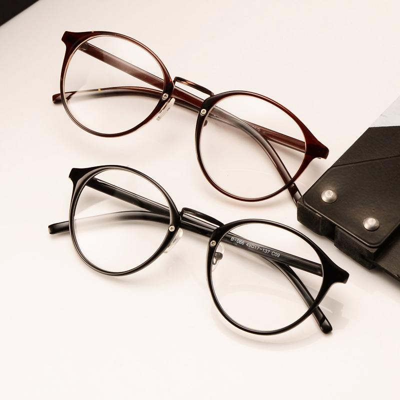 Vintage Retro Round Frame Eyeglasses circle glasses nerd glasses-in Eyewear  Frames from Men s Clothing 1edc2ea446aa