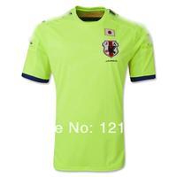 A+++ thailand Men 2014 New Japan away Outdoor Soccer Jersey Brazil 14 15 Soccer Futball Jersey