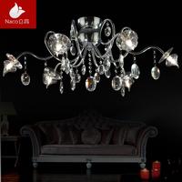 Fashion modern decoration lamp personalized crystal pendant light aesthetic fashion ceiling light