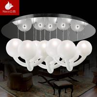 Pendant light modern brief fashion round ball lighting