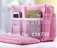1841 thickening belt portable multifunctional storage bag cosmetic bag wash bag zipper belt sorting bags