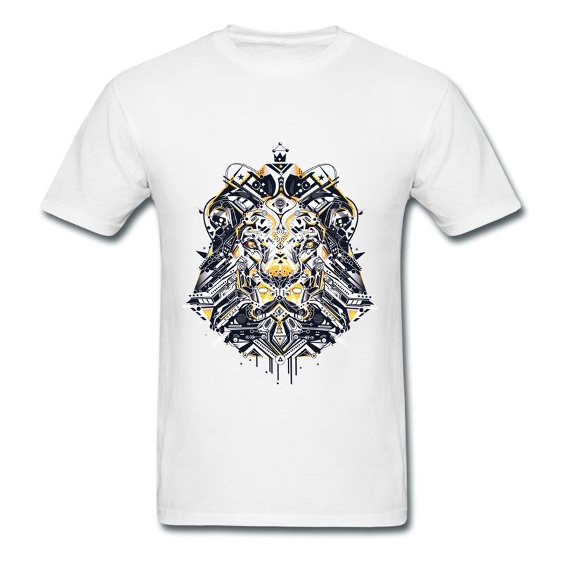 Robot Clothing Logo t Shirt Lion Robot Tshirts