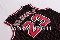 Nickname Jerseys Air Jordan ,2014 New Style Michael Jordan Black With Red Stripes Rev 30  Basketball Jersey Free Shipping