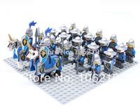 24pcs Lion Army Minifigure compatible with lego Building Block doll,Loose Brick accessory WOMA Sluban Decool mini figures