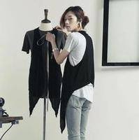 Men's clothing summer male casual medium-long elegant modal vest