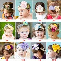 Noble princess Baby child Girl's head flower Headband Headwear Hair Accessories Infant Hair Band-65