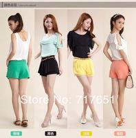 New Women's Casual Colored Dress Shorts Trend Hot Shorts Chiffon Pants