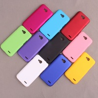 For LG L90 Cover,Rubber Matte Hard Back Cover Case For LG L90 D410 Dual Sim Card +2Pcs Screen Protector,High Quality,Freeshiping