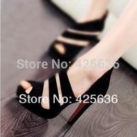 hot selling women pumps  sandal  women genuine leather shoes  genuine leather  women genuine leather shoes sandals