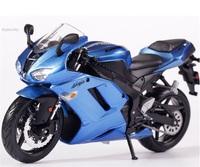 1:12 motorcycle models for KAWASAKI NINJA ZX-6R With suspension motorcycle diecast model!Metal model motorcycle free shipping