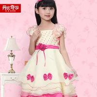 Children's clothing female child summer  one-piece dress princess dress child summer puff skirt yarn skirt formal dress