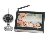 "2.4Ghz Wireless Audio Baby Monitor 7"" TFT LCD IR Night Version Camera"