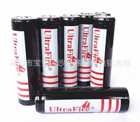 Lithium battery factory -- 10 PCS black shenhuo 18650 lithium battery 3.7 V lithium battery capacity of 18650 ma