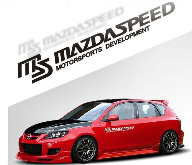 Наклейки Len XZ/09 DIY Mazda 3, Mazda 6 2 CX 5