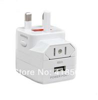 General universal adapter plug usb charge converter travel socket  eu plug  travel adapter  power plug   us to eu