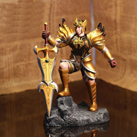 Free Shipping!Hot Game LOL Garen Jarvan IV Top Grade 21CM PVC Action Figure Model Toy Birthday Gift With Retail Box