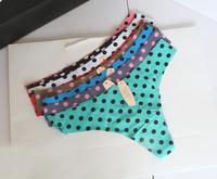 European and American original single trade Ms. Victoria Seamless sexy thong t dot pants wholesale
