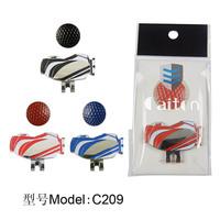 Caiton fans supplies ball golf bag hat clip ball metal marker