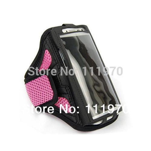 Подарок гимнастика повязки тренировки аксессуар на открытом воздухе спорт бег бег крепления ремешка чехол крышка для iphone 4 4s! 6 цветов