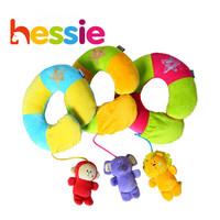 2015 memory pillow u shape neck protection baby cute cartoon 3 animal pillow free shipping