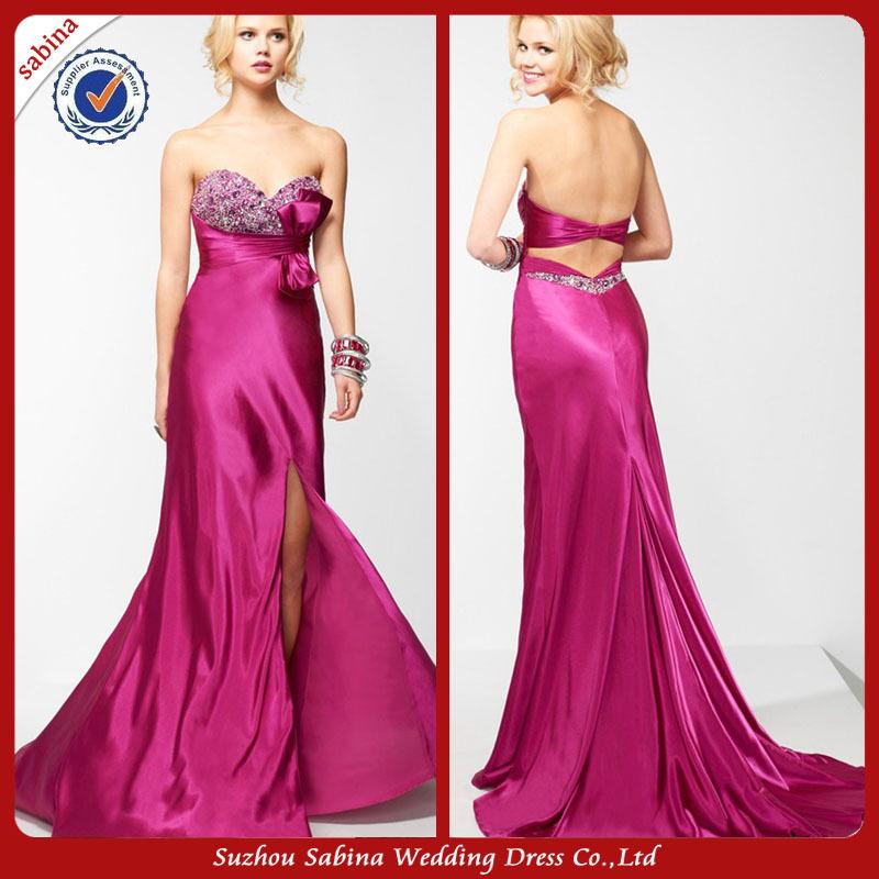 ZP0048 Split Leg Prom Dresses Express Delivery Prom Dresses(China (Mainland))