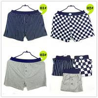 Free Shipping! Men Home Boxer Beach Casual Printing Pants Man Aro Boxer 3pcs/lot S, M, L, XL