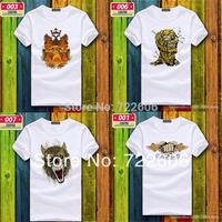Original design brand t shirt shirts cool geek skull mens undershirt T camisa anime ed tee hardy hip hop hip hop tee