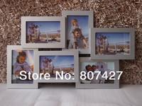 6 MULTI FRAMES  Picture Frame 4x6inch x 6 pcs