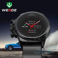 2014  WEIDE Watch Men Sport Watch Military Watches Army Japan Quartz Wristwatch Men's Watch 30M Waterproof  +Gift Box Free Ship