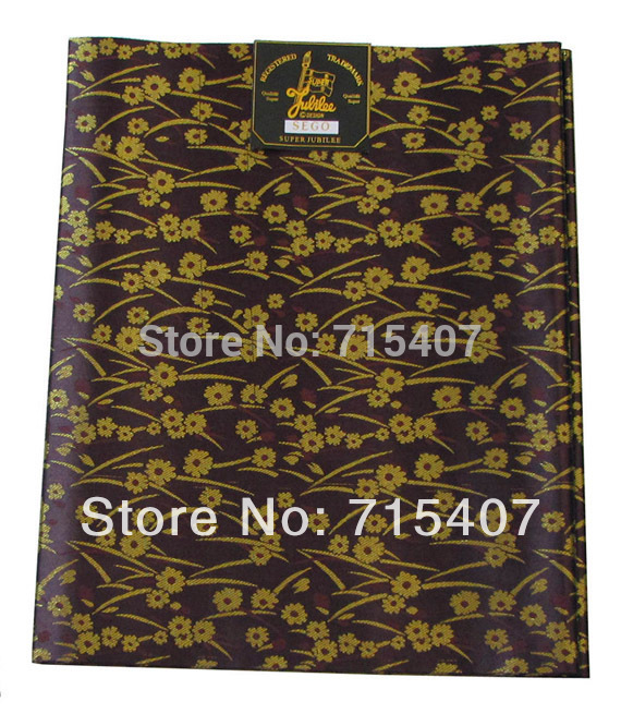 Hot Selling Headtie, High Quality African Sego Headtie, HSG043 Coffee + Gold, Wholesale fashion Headtie.(China (Mainland))