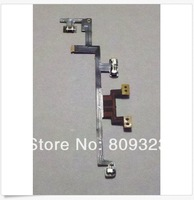 Free shipping 5pcs Power On/Off Switch Volume Flex cable for iPad 3