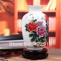 Ceramics bottle vase home decoration crafts thin knobbing fashion vase ceramic
